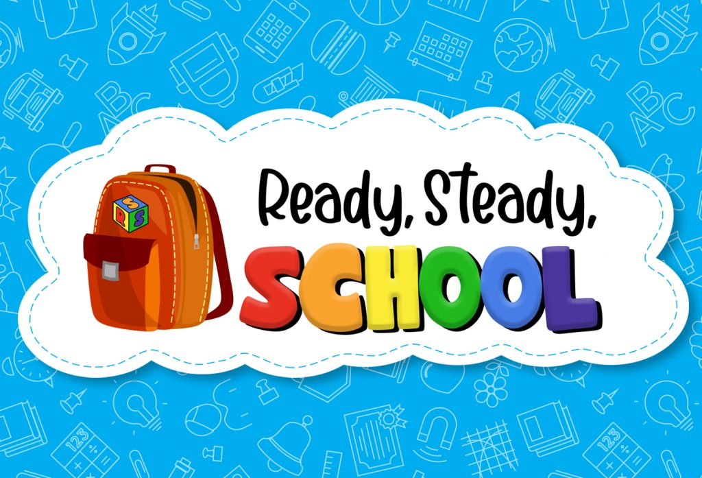 Logo for ready steady school