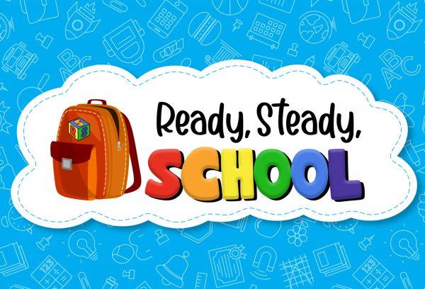 Logo for ready steady school