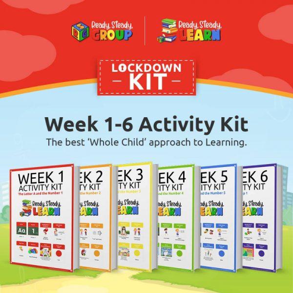 Six Week Ready for school Activity Kit